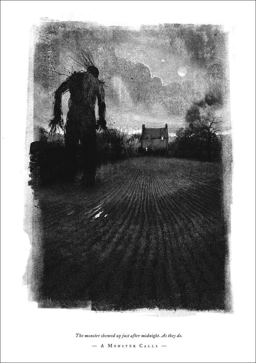 A Monster Calls. Patrick Ness.